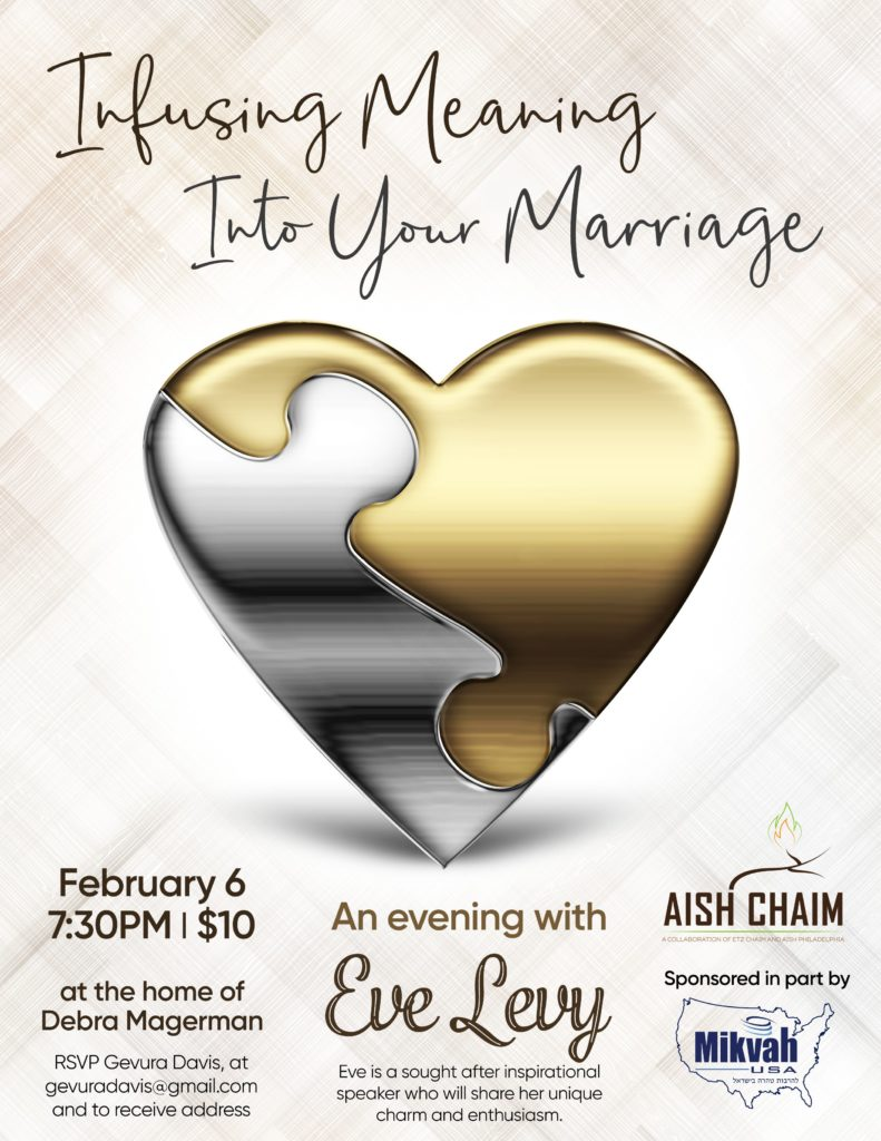 Infusing Meaning Into Your Marriage - February 6